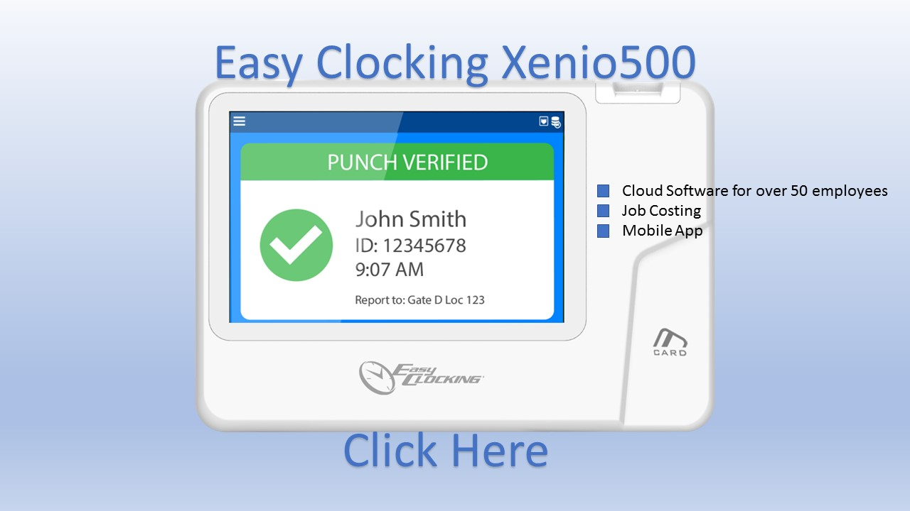 Easy Clocking Xenio500